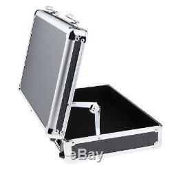 1Pc Lockable Makeup Hair Salon Stylists Train Case Hairdressing Tools Box