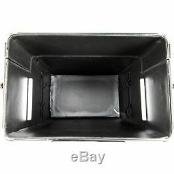 2 in 1 Professional Rolling Makeup Case Storage Trays Lock Keys by Ver Beauty