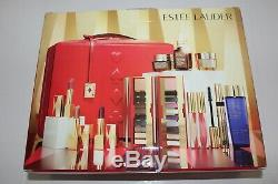2019 Estee Lauder Blockbuster Holiday Make Up Gift Set withTrain Case Cool MACYS