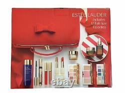 2020 Estee Lauder Blockbuster Holiday Makeup Gift Full Set 12PC + Train Case New