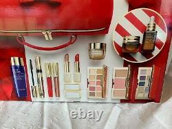 2020 Estee Lauder Blockbuster Holiday Makeup Gift Set 12 pcs & Train Case