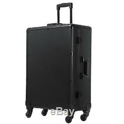 2in1 Rolling Makeup Case Trolley Train Box Cosmetic Lockable Train Case WithKey