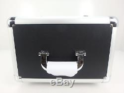 AW Pro Rolling Jewelry Makeup Case with Drawers Code Lock 14x9x20 Inch Black