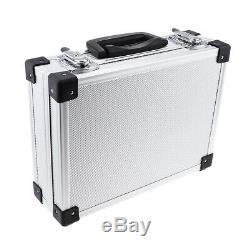 Aluminum Hairdresser Tool Makeup Train Case Travel Storage Holder Tattoo Box