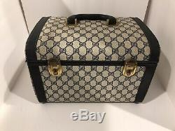 Authenic Gucci Early 70s Vintage Doctor Cosmetic Train Case