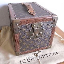 3a99d7cdce4a Authentic LOUIS VUITTON MONOGRAM Boite Flacons Beauty Case Cosmetic Train  Case