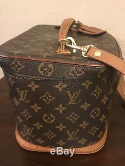 Authentic Louis Vuitton Hardside Train Makeup Case Wow Awesome