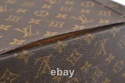 Authentic Louis Vuitton Monogram Train Case Cosmetics Vanity Bag M23570 LV D8662