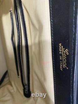 Authentic Vintage Gucci Ophidia Toiletry Cosmetic Train Case Satchel Bag