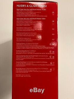 BN2019 Estee Lauder Blockbuster Holiday Make Up Gift Set withTrain Case Warm