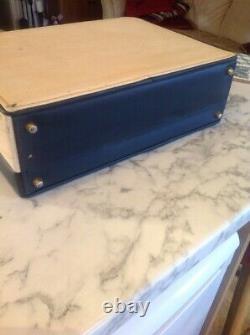 Beautiful 1950/60 Harrods cosmetic train case / travel bag sold in harrods