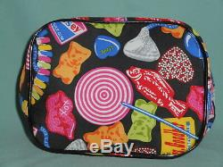 Betsey Johnson Rare Candy Girl Train Case Cosmetic Travel Bag Pre Owned