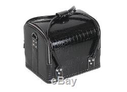 Black Makeup Beauty Box Train Case For Professional Nail Tool Case K Beauty