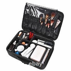 Byootique Nail Art Train Case Workstation Trolley Desk with Makeup Shoulder Bag