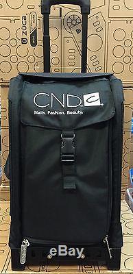 Cnd Zuca Makeup Artists Nail Tech Hair Dresser Mobile Professional Rolling Bag