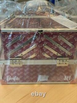Caboodles X Barbie Makeup Train Case RARE