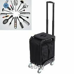 Cases Makeup Rolling Trolley Train Case Professional Artist Train Case Organizer