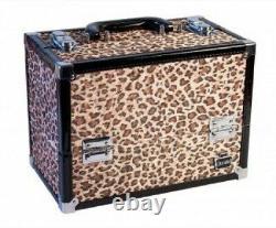 (Cheetah Print) Caboodles Make Me Over Train Case (Cheetah Print)