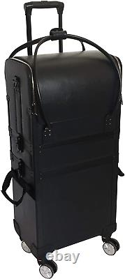 Comair Duo 7001231 Tool Box on Wheels with Removable Bag Aluminium Black