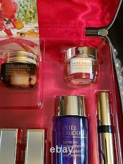 Estee Lauder 2020 Holiday Blockbuster Makeup Gift Set 12PC + Train Case