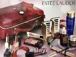 Estee Lauder Blockbuster 2017 Holiday Make Up Gift Set withTrain Case -Smoky Noir