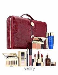Estee Lauder Blockbuster Holiday Make Up Gift Set withTrain Case -Smoky Noir