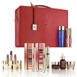 Estee Lauder Blockbuster Holiday MakeUp Gift Set train case COOL $455 value