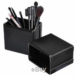 Estudio Salón Maquillaje Entrenar Funda Cosmético Rodante Oragnizer Mesa Luz Led