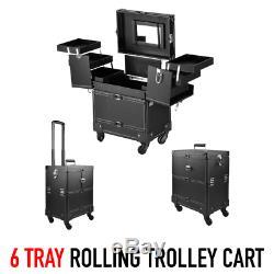 Hair Stylist Cart Salon Equipment Case Barber Traveling