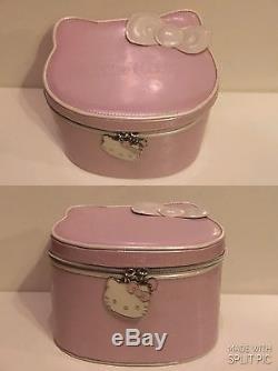 7763a7ba0 Hello Kitty Sephora Train Case Makeup Jewelry Bag RARE Travel Sanrio Toy