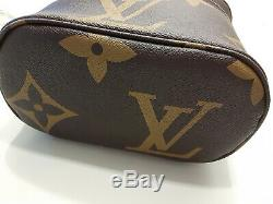 High Quality Luxury Monogram Vanity Travel Train Case Cosmetic bag Great Details