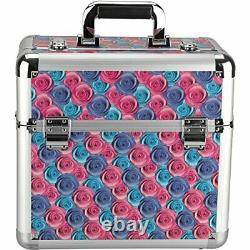 Hiker PT4302 Professional Makeup Train Case Portable Cosmetic Jewelry Box Org