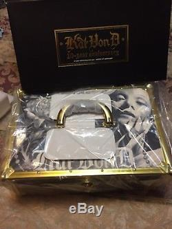 Kat Von D 10 Year Anniversary Train Case Makeup Kvd Sold Out 1 DAY SHIPPING