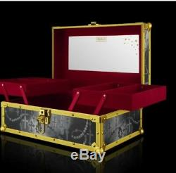 Kat Von D 10th Anniversary Collector's Train Case NOT SIGNED/MAKEUP/BRUSHES