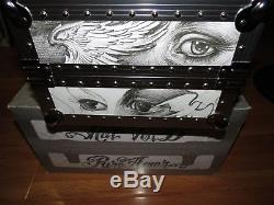 Kat Von D Angeleno Makeup Train Case 2009 Limited Edition Rare With Box