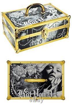 Kat Von D Anniversary Makeup Train Case Limited Ed New Authentic