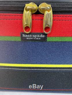 Kate Spade Case Cosmetic Makeup Train Travel Vanity