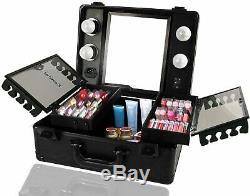 Kemier train case Make up Koffer kosmetikkoffer mit Licht und Spiegel