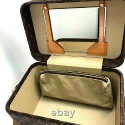 LOUIS VUITTON M23570 Monogram Train case Vanity bag cosmetic box Shoulder Bag