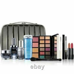 Lancome BEAUTY BOX 10 Full Size Products MAKEUP +TRAIN CASE 2020 Gift NEW