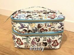 Little Mermaid Ariel Sisters Makeup Train Case Vanity Bag