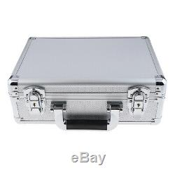 Lockable Hard Aluminium Hairdressing Salon Box Barber Toolbox Train Case