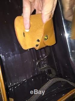 Louis Vuitton French Company Vintage Mono Makeup Travel Train Case Strap Keysale