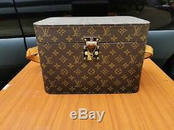 Louis Vuitton Vanity Trunk / Train Case For Cosmetics And Make Up