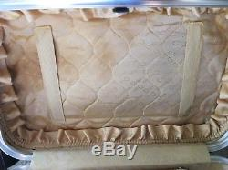 Lovely Christian Dior Vintage Luggage Travel Train Case Cosmetic Make-Up
