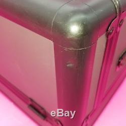 M. A. C Makeup Cosmetics Pro Train Case MAC make up black vintage