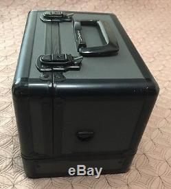 MAC Makeup Pro Train Case Retired Black Vintage Box 100% Authentic RARE
