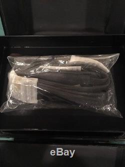 MAC Makeup Pro Train Case, Retired, Black Vintage, Box, 100% Authentic with Strap