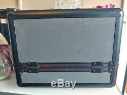MAC Makeup Retired Pro Train Case Black Vintage Must Have Buy it Now B4 its gone