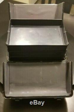 MAC Makeup Train Case Vintage Rare black artist pro box